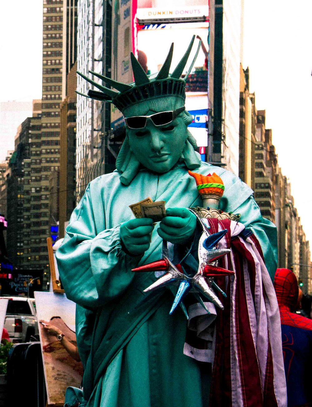 Pedro Díaz filmmaker realizador fotografía New York Statue of Freedom