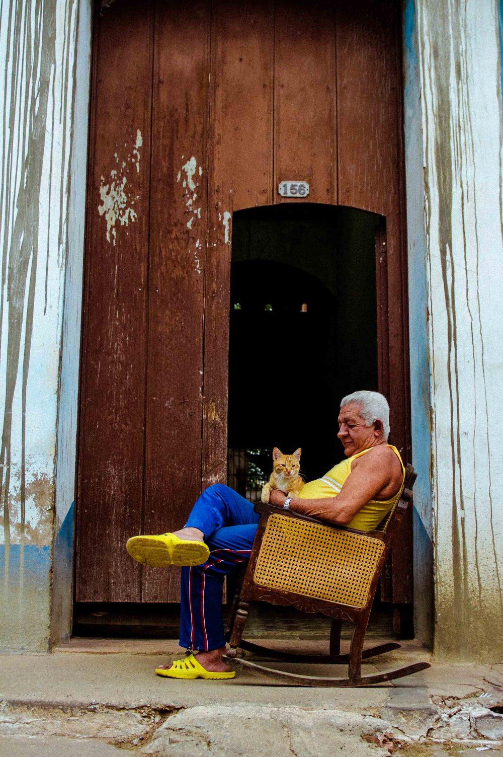 Pedro Díaz fotografía realizador filmmaker Cuba Trinidad